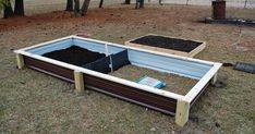 Was there gardening done this weekend? Oh yeah! For starters, I needed raised beds. Well, more like wanted due to the advantages, per my ...