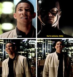 #TheFlash #Season2 #2x19 LOOK AT HOW HAPPY HE IS AFTER HE FINALLY GETS TO TALK TO THE FLASH HE IS JUST SO ADORABLE I LOVE HIM SO MUCH