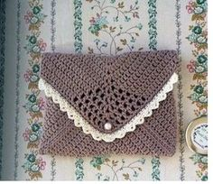 nice granny purse - free crochet pattern