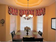 Merveilleux Valance For Bay Window | Valance Style For Bay Window | Kitchen