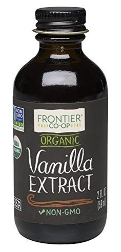 Frontier Organic Vanilla Extract 2 Ounce * Be sure to check out this awesome product.(This is an Amazon affiliate link and I receive a commission for the sales)