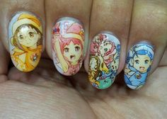 おジャ魔女どれみ : Character nail art