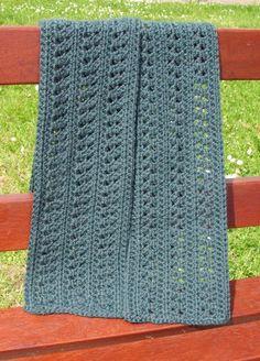 "free crochet scarf pattern, ""acacia"" #CrochetScarf"
