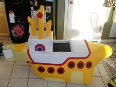 Yellow submarine costume for my Daughter