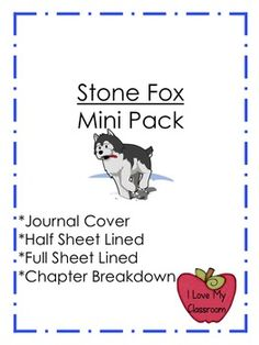 i love having read alouds in my classroom  stone fox can lead to great  discussions