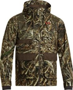 Built for cold weather, the Men& CGI Skysweeper System Jacket from Under Armour is so warm you'll hardly notice the drop in temperatures. Hunting Jackets, Duck Hunting, Under Armour Men, Cgi, Cold Weather, The Man, Motorcycle Jacket, Drop, Warm
