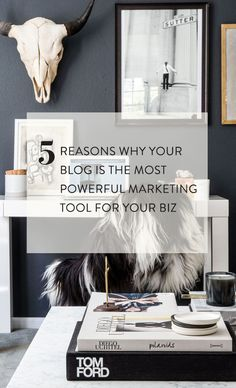 5 reasons by your blog is the most powerful marketing tool for your biz // rachelgadiel.com