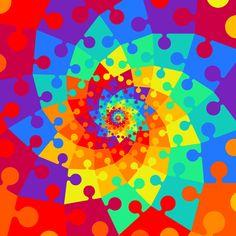 solve mc escher GIF by Feliks Tomasz Konczakowski Illusion Kunst, Optical Illusion Gif, Cool Optical Illusions, Illusion Art, Trippy Gif, Live Wallpaper Iphone, Rainbow Wallpaper, Mc Escher, Pretty Wallpapers