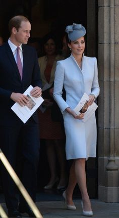 Alexander McQueen Coat And Jane Taylor Hat / The Definitive Ranking Of Kate Middleton's Royal Tour Outfits Estilo Kate Middleton, Kate Middleton Outfits, Kate Middleton Photos, Kate Middleton Style, Princesse Kate Middleton, Kate Middleton Prince William, Prince William And Catherine, William Kate, Princesa Kate