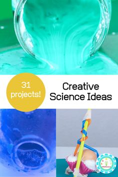 creative science ideas Easy Science Projects, Stem Projects For Kids, Easy Science Experiments, Stem For Kids, Math Projects, Science Ideas, Free Math Games, Math Activities For Kids, Science For Kids