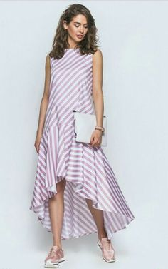 Полоска – Linen Dresses For Women Linen Dresses, Cute Dresses, Casual Dresses, Fashion Dresses, Summer Dresses, African Fashion, Indian Fashion, Womens Fashion, Korean Fashion