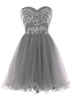 Beaded Prom Dress,Sweetheart Prom Dress,Fashion Homecoming Dress,Sexy Party Dress,Custom Made Evening Dress