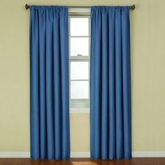 Buy Insola Kate 63-Inch Rod Pocket Blackout Window Curtain Panel in Raspberry from Bed Bath & Beyond