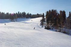 Centre de ski Mont-Fortin à Jonquière.........................Sky center Mont-Fortin in Jonquière