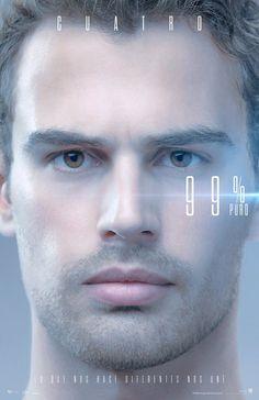 Nuevo poster de Divergente La Serie #Leal. 99% Puro.