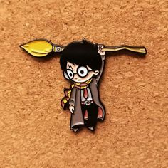 Hang on Wizard - Enamel Pin – Naolito