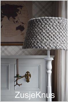 ZusjeKnus Crochet Lampshade| ZusjeKnus Gehaakte lampenkap - ZusjeKnus