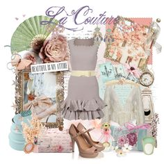 The fashion fairy..., created by forget-me-not.polyvore.com