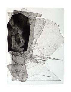 Batholith etchings, 2010-1, by Eben Goff