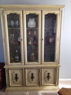 China Cabinet. Stanley Furniture.