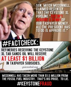 Mitch McConnell - the GOP's chief WHORE!