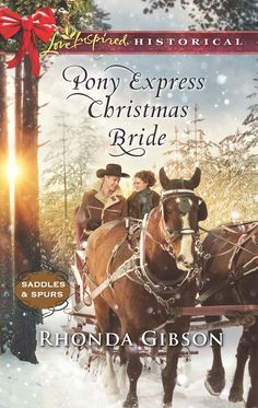 Pony Express Christmas Bride (Saddles and Spurs) by Rhonda Gibson. Want-Ad Wife Mail-order bride Josephine Dooley's trip West was supposed to end in marriage to her intended groom—not with the discovery that he hadn't actually placed the bridal ad! Now her only choice is to convince Pony Express rider Thomas Young to wed her anyway to save her from her scheming uncle. A bride shouldn't be a surprise package, and when Thomas finds out about his meddling brother's ruse, he plans to send his...