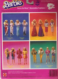 abiti TWICE AS NICE anni 80 :: Barbie la nostra passione