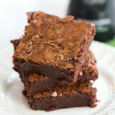 Guinness Chocolate Brownies Recipe | Brown Eyed Baker