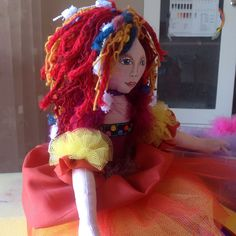 My doll from Jan Horrox book