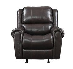 Pulaski Leather Rocker Recliner 36Inch Chocolate LV * Check this awesome product by going to the link at the image.