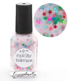 Lynnderella Limited Edition Nail Polish—December 6. Pink Star Buttercream #Lynnderella