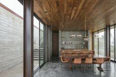 "Casa de huéspedes ""Off-Grid Guest House"", de Anacapa y Willson Design - Nachhaltiges Design, Home Design, Interior Design, Modern Design, Off Grid House, Journal Du Design, Glass Facades, Architect House, Off The Grid"