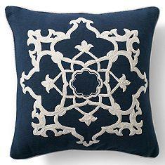 Medallion Dori Throw Pillow