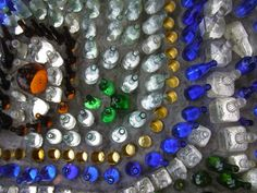 sustainable design, green design, recycled materials, sustainable architecture, bottle chapel, building made from bottles, green building, alternative building materials