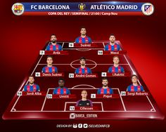 OFFICIAL!  FC Barcelona XI vs Atlético Madrid. ⚽️ FORÇA BARÇA! 🔵🔴 #fashion #style #stylish #love #me #cute #photooftheday #nails #hair #beauty #beautiful #design #model #dress #shoes #heels #styles #outfit #purse #jewelry #shopping #glam #cheerfriends #bestfriends #cheer #friends #indianapolis #cheerleader #allstarcheer #cheercomp  #sale #shop #onlineshopping #dance #cheers #cheerislife #beautyproducts #hairgoals #pink #hotpink #sparkle #heart #hairspray #hairstyles #beautifulpeople…