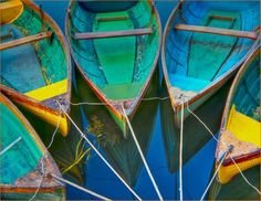 Old boats with great colours