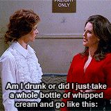 Karen Walker Quotes to Rosario | tumblr_m9f6dotIDo1refoteo4_250.gif