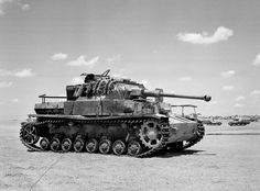 Knocked out German Panzer Mark IV tank, 1944.The 17.3 ton Mk IV was armed with a short barreled 75 mm gun and fitted with 30 mm armor plate. Maneuverable and reliable, it was ideal for supporting infantry and used with great effect during the German attacks on Poland, France and the Low Countries, and during the early stages of the Soviet campaign. Later in the war it was found that the short barreled 75 mm gun was replaced by a long barreled version in order to defeat the Russian T-34.