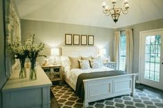 Master bedroom. .from the fixer upper
