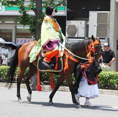 The ancient and beautiful festival Aoi Matsuri in Kyoto