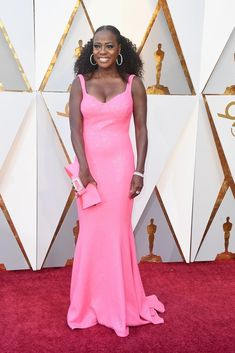 Viola Davis in Michael Kors Collection...Timeless, a classic silhouette that always looks great no matter the fabric. Select the best fabric within the budget.