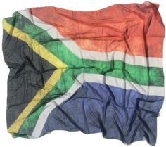 Our over sized scarf, big enough to be a shawl and light enough to be a scarf, combines gorgeously soft, buttery fabric with exclusive, distressed artwork for a luxurious look and feel. North South East West, I Am An African, South Afrika, Africa Flag, Le Cap, The Beautiful Country, African Beauty, Beautiful Places To Visit, West Africa