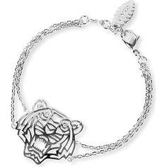 KENZO Tiger charm bracelet (Silver