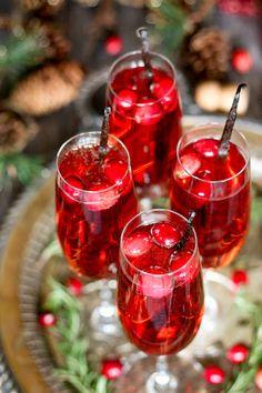 Vanilla Cranberry Mimosa Recipe on Yummly