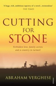 Cutting for Stone by Abraham Verghese - fascinating story of generation of doctors in Africa. Read the Book Dragon's review for more details.