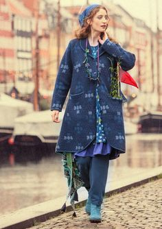 """""""Vibeke"""" coat in felted wool – Denmark – GUDRUN SJÖDÉN – Webshop, mail order and boutiques 