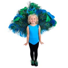 Pretty Peacock Costume - The Feather Place Halloween 2018, Fall Halloween, Holiday Crafts, Holiday Fun, Holiday Ideas, Peacock Costume Kids, Peacock Mask, Ivy Costume, Photo Tutorial