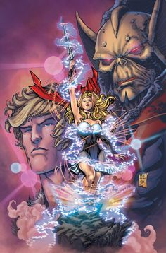 Cover I coloured for HE-MAN and the Masters of the Universe Issue for DC Comics. Pencils by my good friend Ken Lashley. HE-MAN and the Masters of the Univers - Issue Comics Anime, Dc Comics, Gi Joe, He Man Thundercats, Comic Art, Comic Books, Comic Pics, 90s Cartoons, American Cartoons