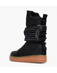 san francisco 71731 9bc92 57,05 Nike SF Air Force 1 Hi Boot Damesschoen Zwart Gum
