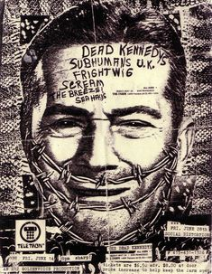 Dead Kennedys concert flyer by ~blugosi on deviantART